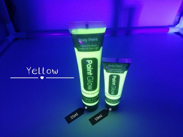 10ml Glow in the dark body paint (READY STOCK)