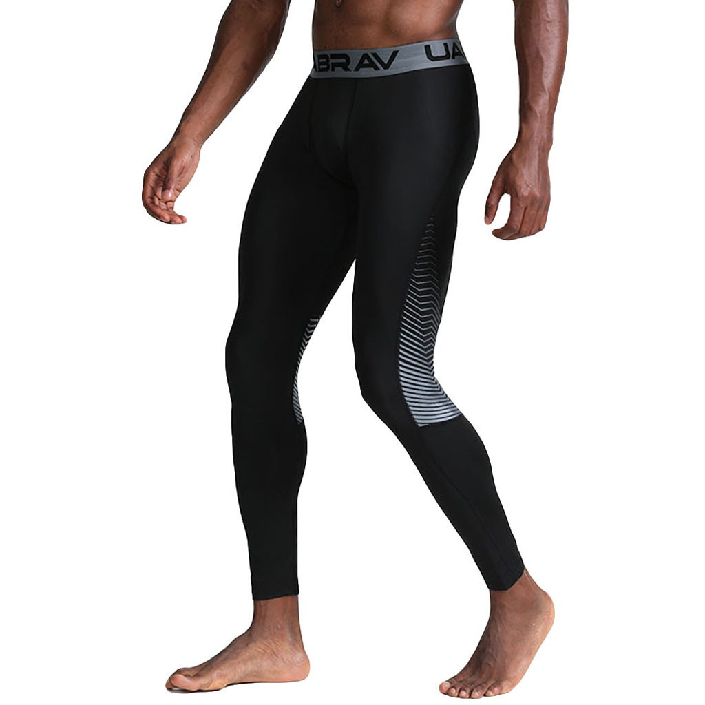 wannaMen's Casual Fitness Sweat Absorption Fast Drying Elastic Sports Long Pants