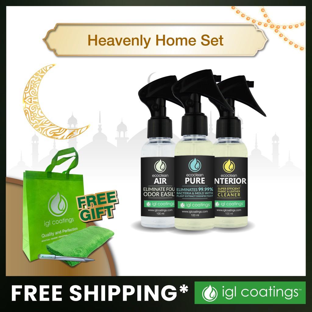 IGL Coatings Special Bundle Offer Heavenly Home Set for Home Care