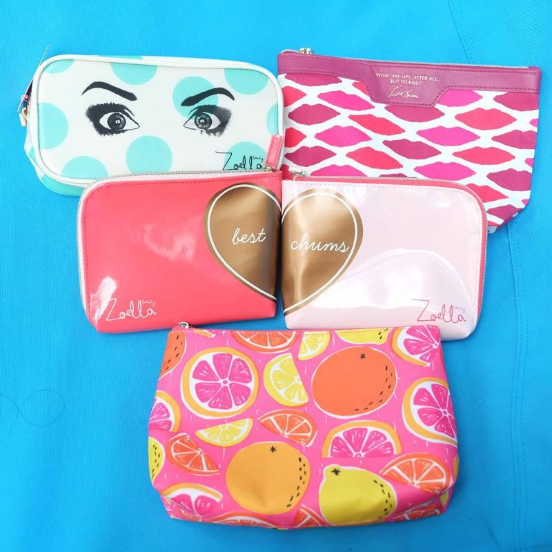 Zoella Cartoon Sticker Love Makeup Bag