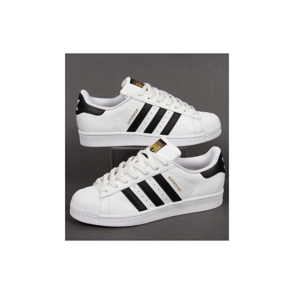 adidas superstar black white (womens) OEM premium quality