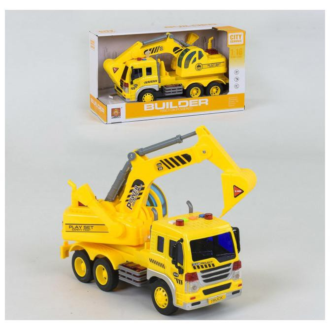 Construction Vehicle Toy Construction Crane Excavator Bulldozer Lorry Toys Excavator Digger Trucks Engineer Construction