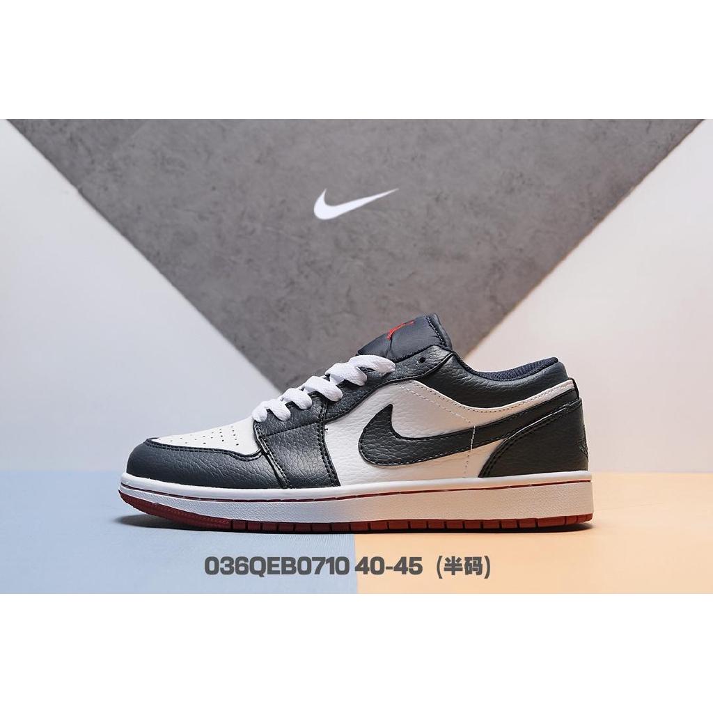 Sucio De otra manera éxtasis  40-45 NIKE Air Jordan 1 Low AJ1 Men's Shoes Casual Sneakers-Color 1    Shopee Malaysia