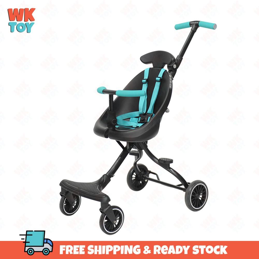 WKTOY Foldable Stroller BaoBaoHao U1 Ultra Lightweight Portable Magic Half Armrest