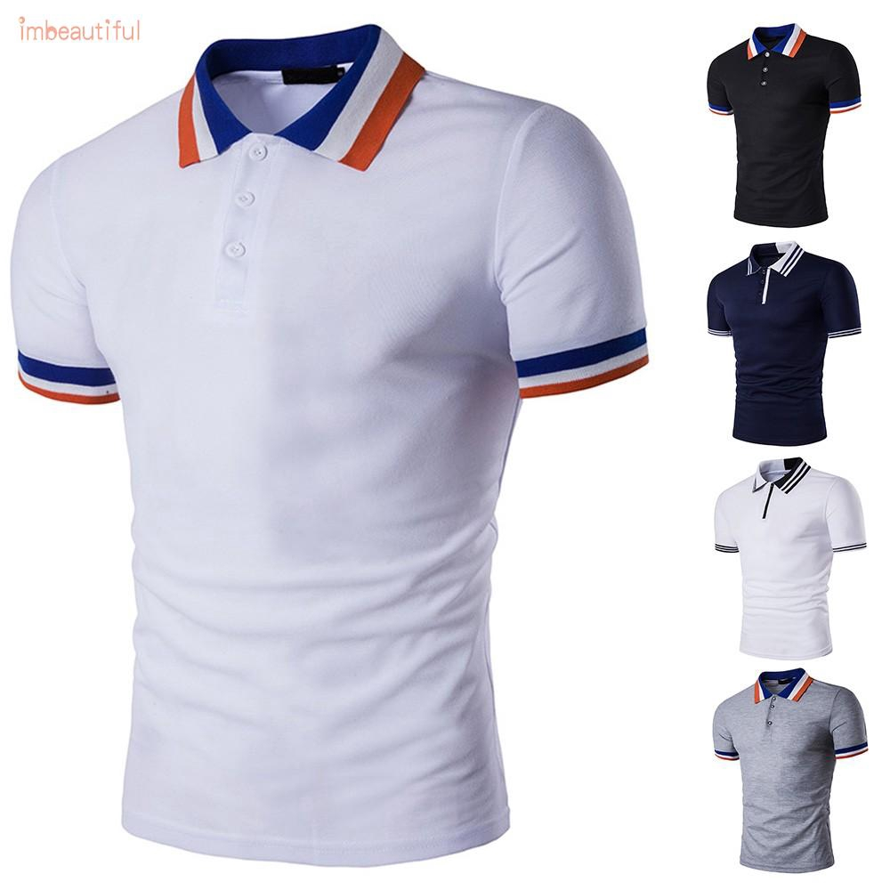Womens Unisex Polo Short Sleeve T-Shirt Plain Casual Sport Top Extra Large 2XL..