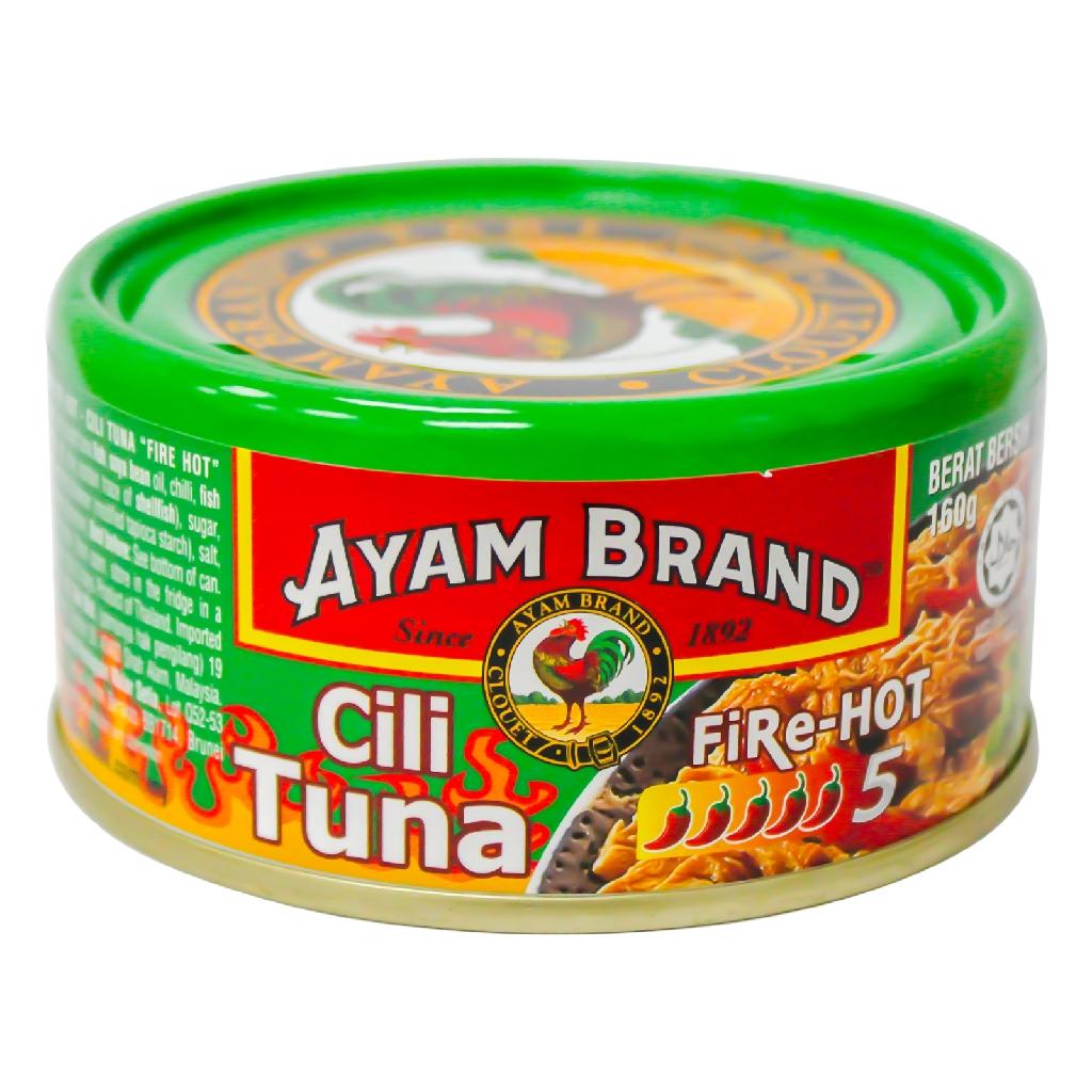 Ayam Brand Chilli Tuna Fire Hot (160g)