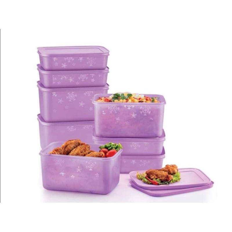 Chill Freezer Medium Set Purple (8pcs)