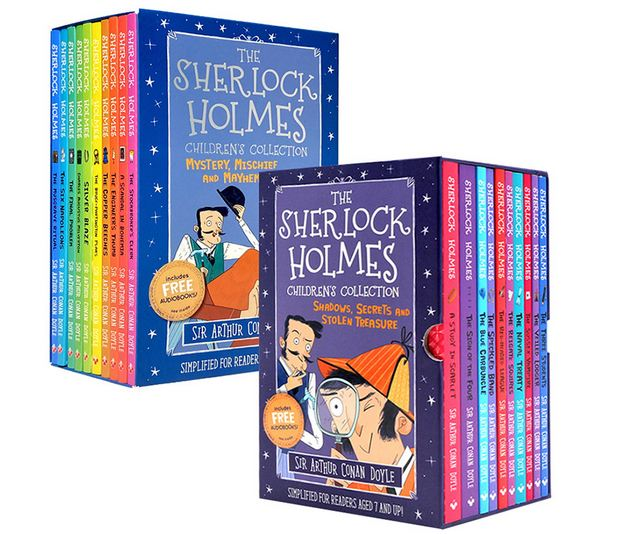 Ready Stock-10 books of Sherlock Holmes Children's Collection  Part 1/ Part 2
