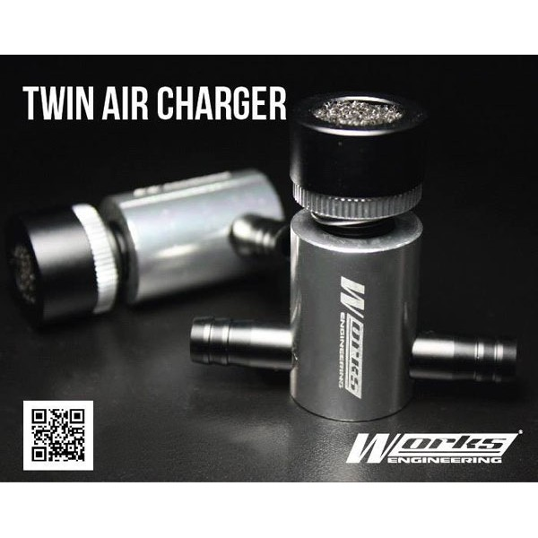 [FREE Gift] WORKS ENGINEERING TWIN BALL BEARING AIR CHARGER FUEL SAVER & PICKUP