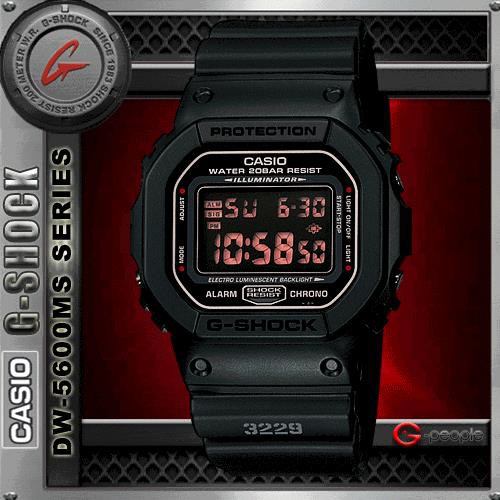 7464c68569d4e CASIO G-SHOCK DW-5600MS-1D   DW-5600MS-1   DW-5600MS WATCH 100% ORIGINAL