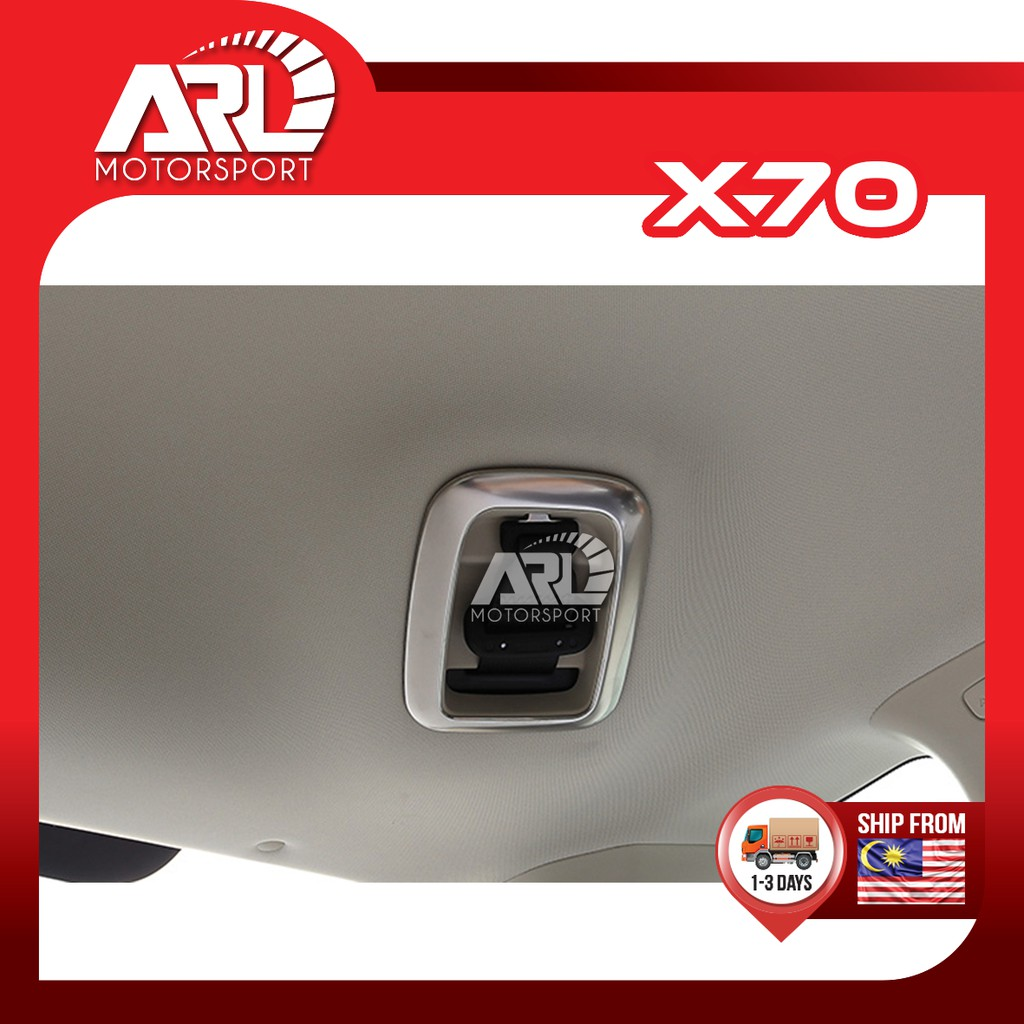 Proton X70 (2018-2020) Rear Seat Belt Protector Cover Lining Silver Car Auto Acccessories ARL Motorsport