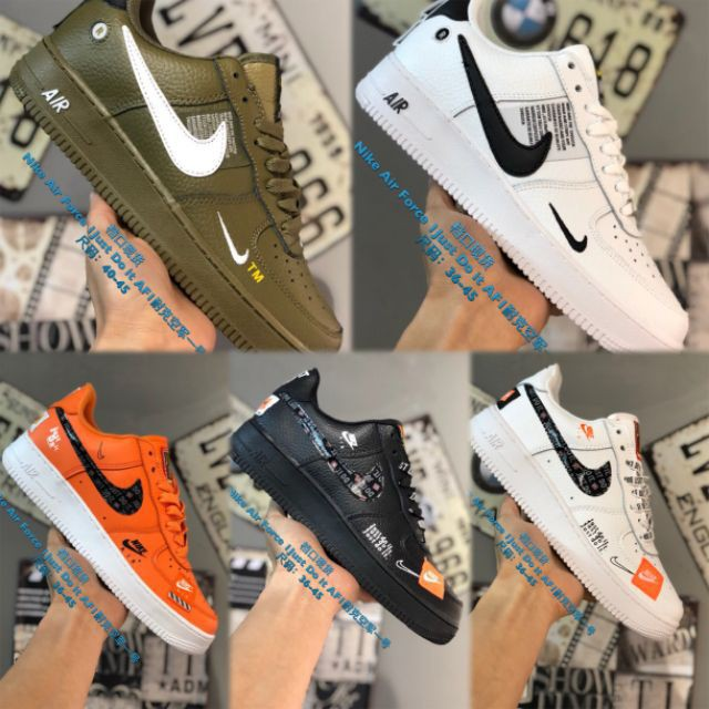 vestir precio Incesante  Nike air force one off white new collection 2019 in stock | Shopee Malaysia