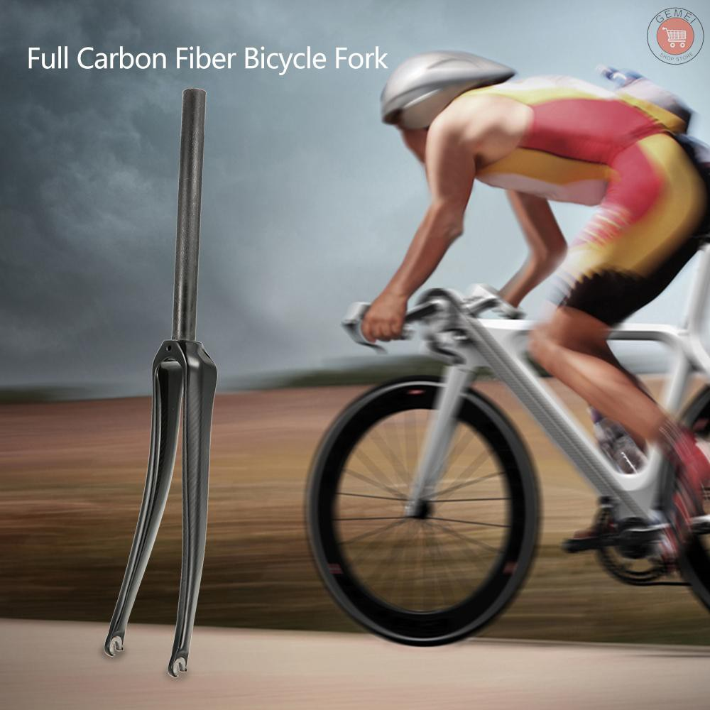 """700C Full Carbon Road Bike Front Forks 1-1//8/"""" Fixed Gear Bicycle Carbon Fork New"""
