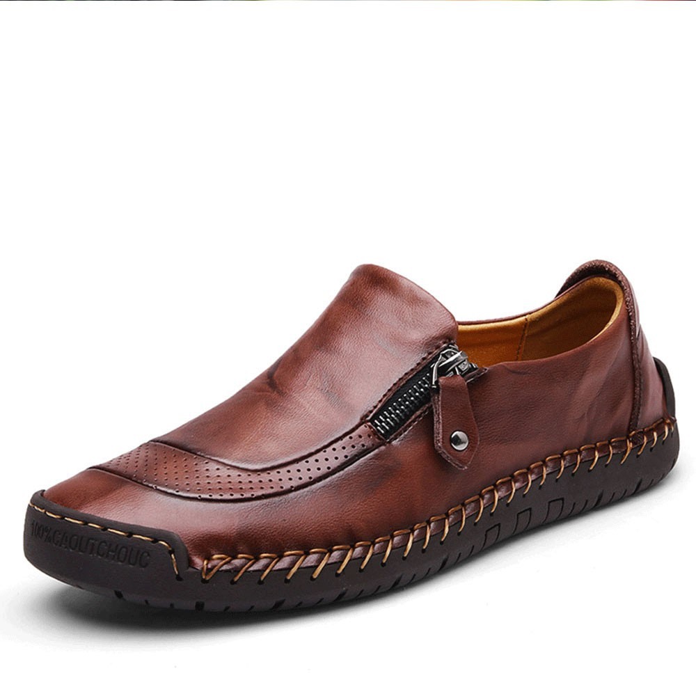 YuPIShi Men Dress Shoes Formal Leather Oxfords Lace Up Boat Moccasins Work Casual Loafers