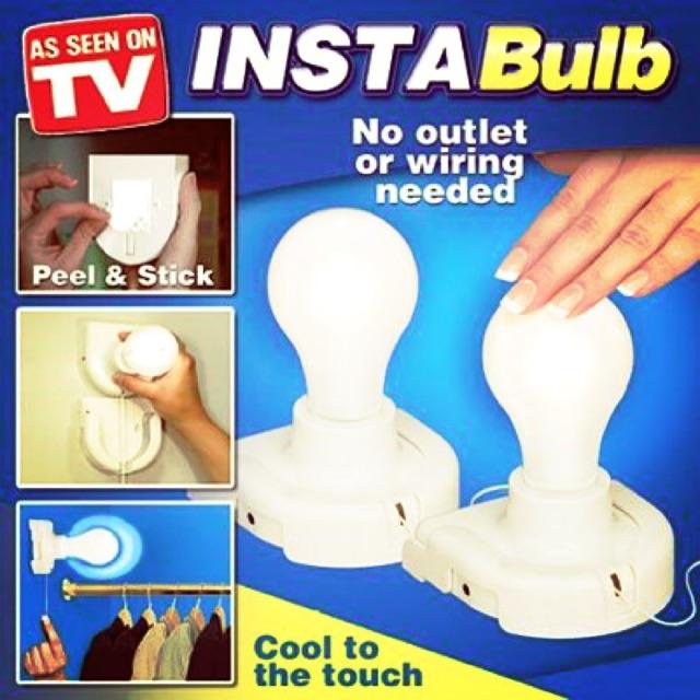 *INSTA BULB*As seen on TV