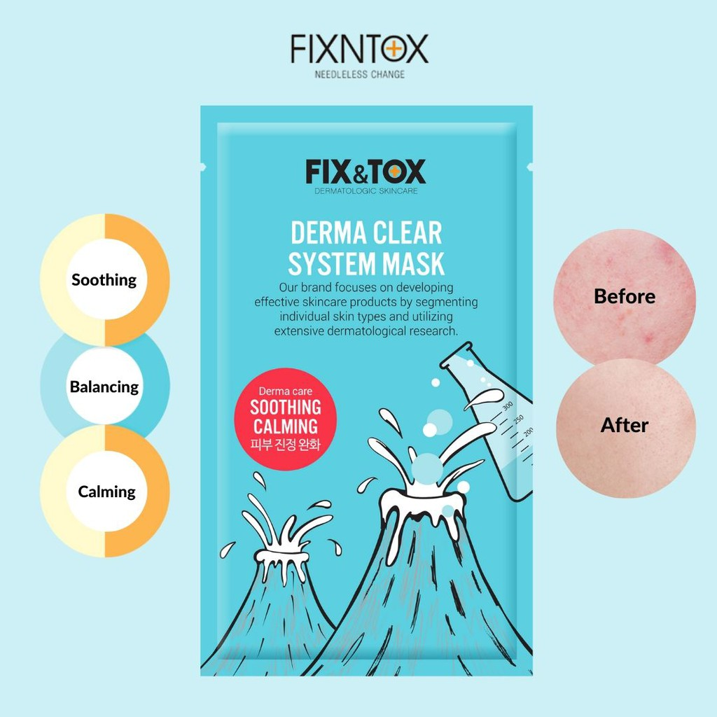 FIX N TOX DERMA CLEAR SYSTEM MASK