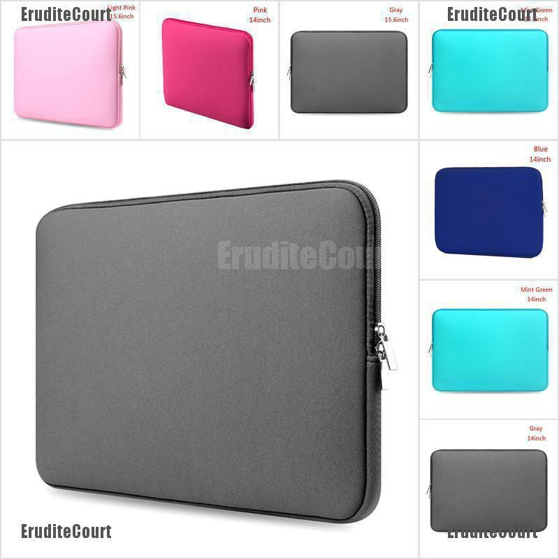 Laptop Case Bag Soft Cover Sleeve Pouch For 14/'/'15.6/'/' Macbook Pro Noteb LBWHTS