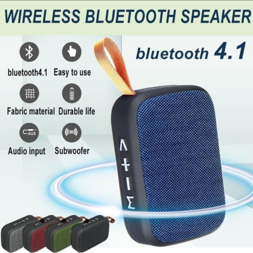 TablePro MG2 Bluetooth Wireless Stereo Sound Portable Speaker MP3 Player FM Radio MicroSD Slot Pendrive USB