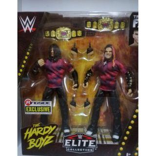 WWE MATTEL RINGSIDE EXCLUSIVE THE HARDY BOYZ BROOD FIGURE SEALED MATT JEFF