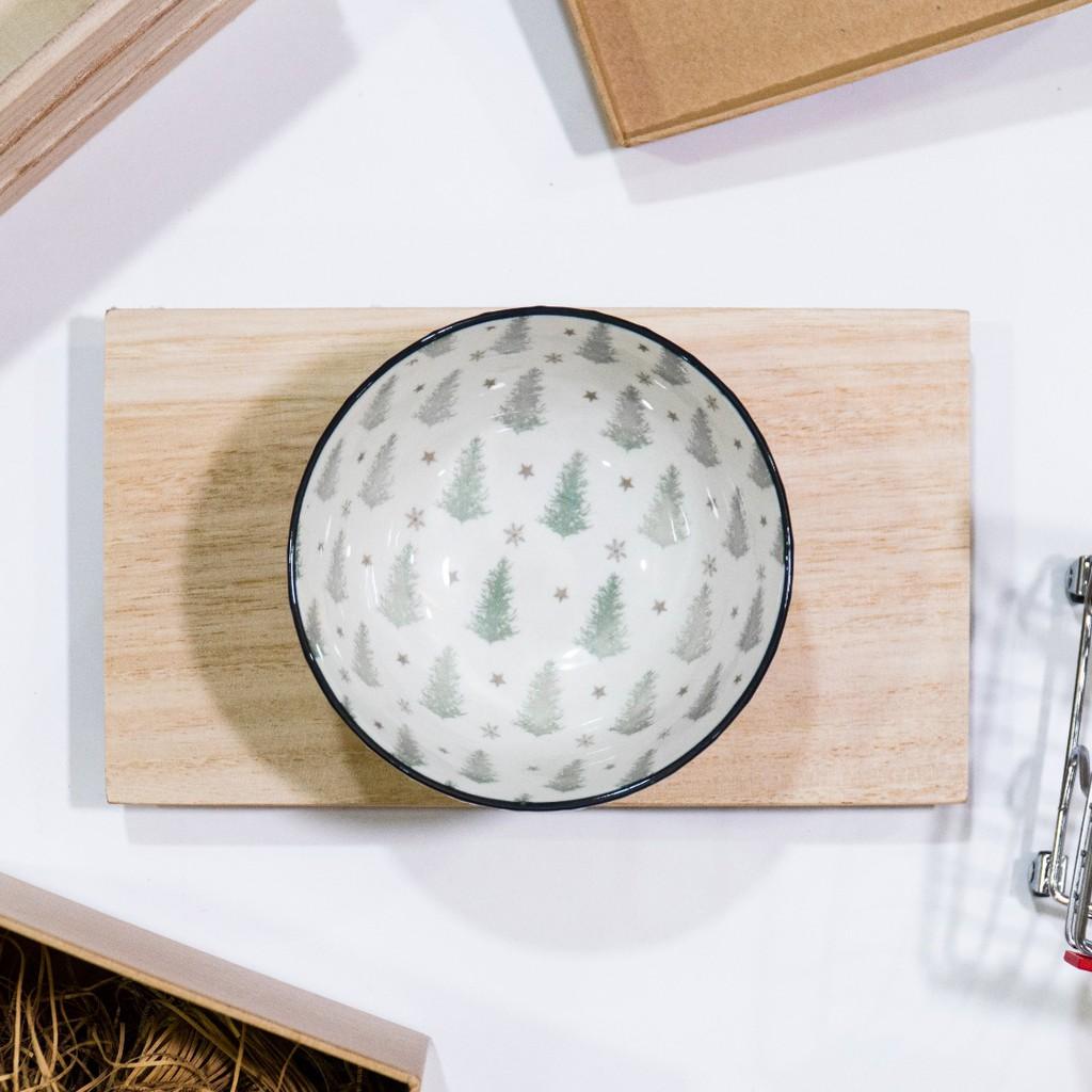 11.5cm Christmas Tree Nordic Style Ceramic Bowl Dining Bowl Soup Bowl Mangkuk Western Bowl Tableware 日式陶瓷碗
