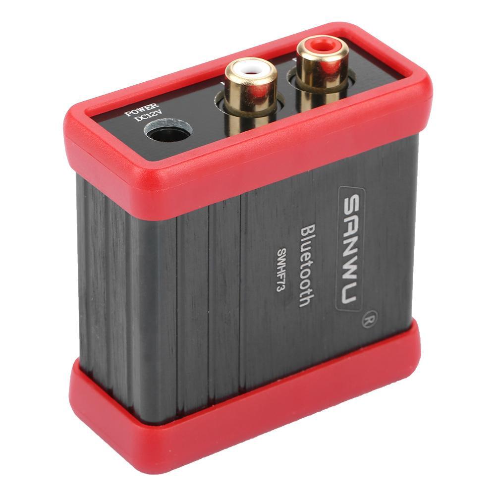 Wireless DC12V Bluetooth Audio Receiver Box RCA For Car Speaker Amplifier Modify