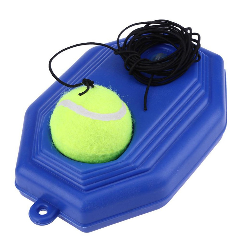 2x Practice Tennis Ball with Elastic String Single Tennis Training Practice