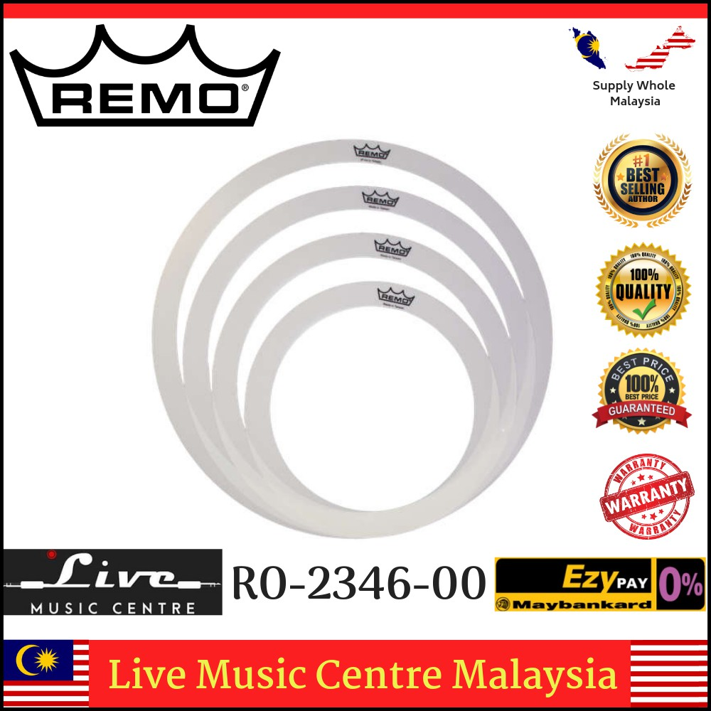"12, 13, 14 and 16 /"" Remo Rem-O-Ring Pack"