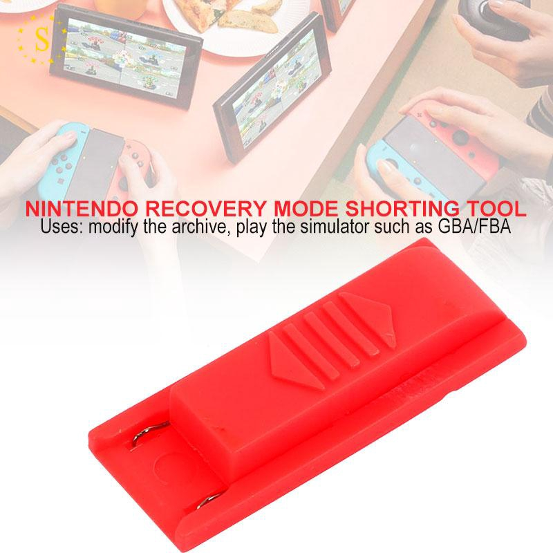 Jig Keyring Joycon RCM Jig Portable NS SX PRO OS Red Archive Modification