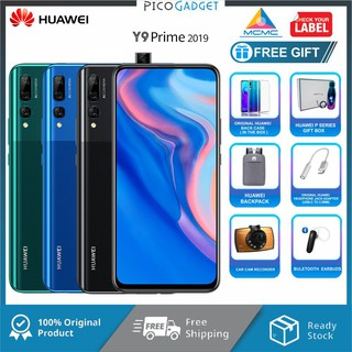 Huawei Y9 Prime 2019 (4GB+128GB) + 4 Free Gift Worth RM199 | Shopee