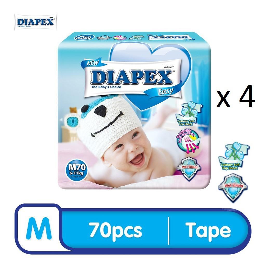 DIAPEX Easy Mega M (70pcs x 4)