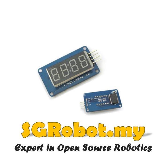 TM1637 Based 4 Digit 7 Seven Segment 0 36 in LED Module for Arduino