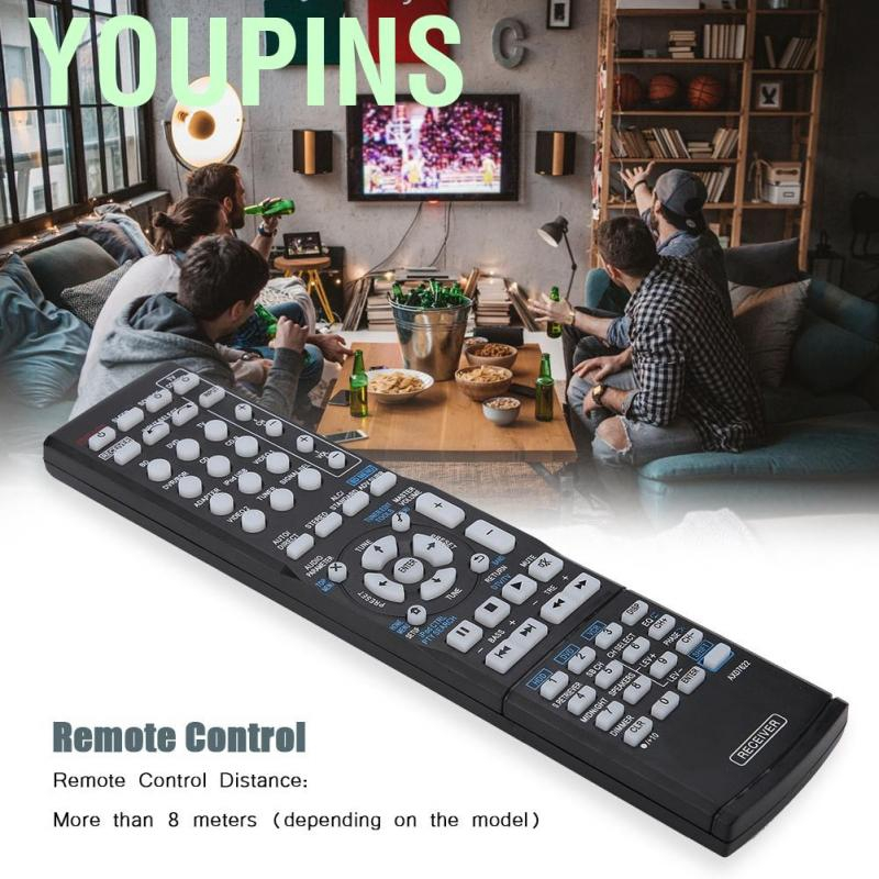 Durable Low Power Consumption Remote Control Full Functions Replacement Remote Control for Pioneer AXD7622 AV Receiver for HTP-071 VSX-321-K-P VSX-42 VSX-421-K SX-319V SX-319V-K,etc