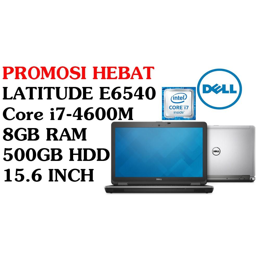 DELL LATITUDE E6540 INTEL CORE i7-4600M 8GB RAM 500GB HDD 15 6 INCH