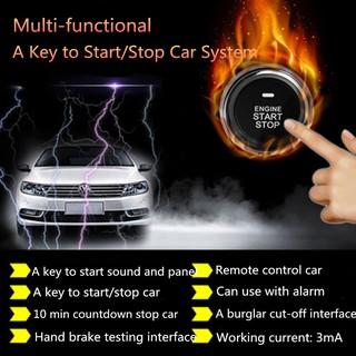 👌✈hot! 12V Remote Control Car Engine Push Start Stop