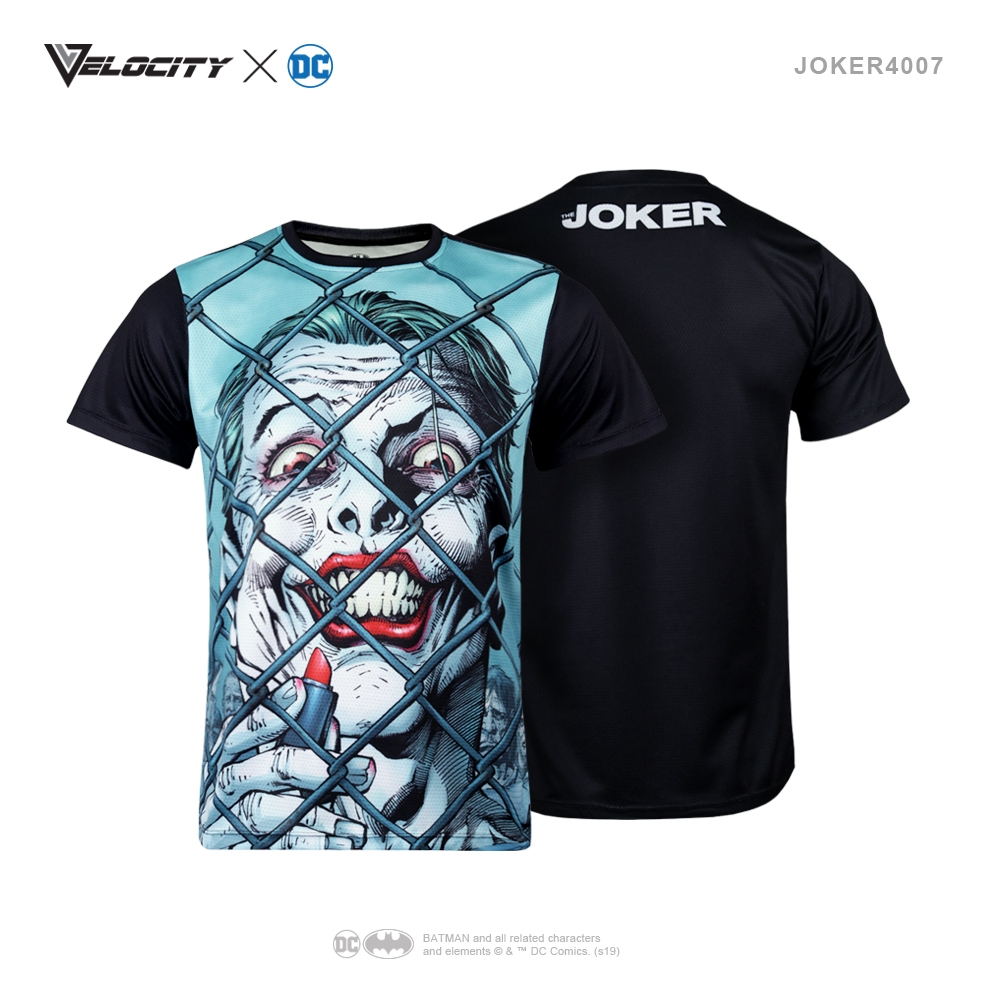 J4007 Unisex Exclusive Polyester Full Print Joker Tee Short sleeve
