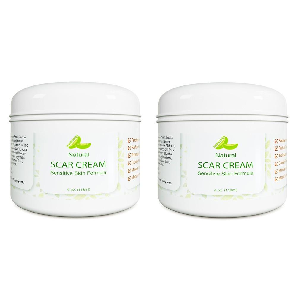 2 Packs Honeydew Scar Cream 4oz Surgery Stretch Mark Anti Aging