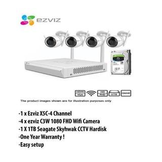 EZVIZ C6T Internet PT Camera   Shopee Malaysia