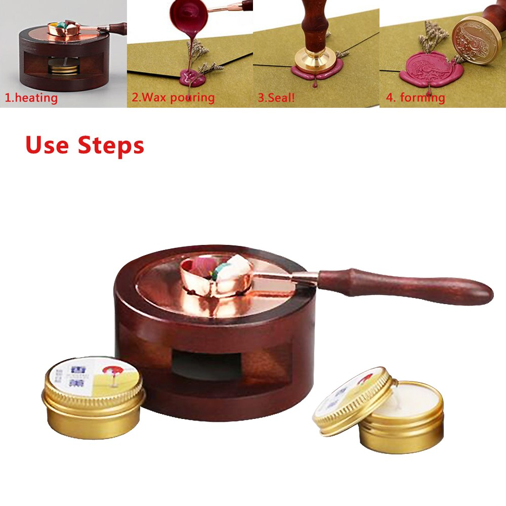 Sealing Wax Melting Furnace Sealing Wax Heater Wax Bead Sealing Melting Tool for Wax Seal
