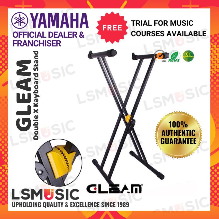 Gleam Double X Keyboard Stand Gear Lock GKS-002