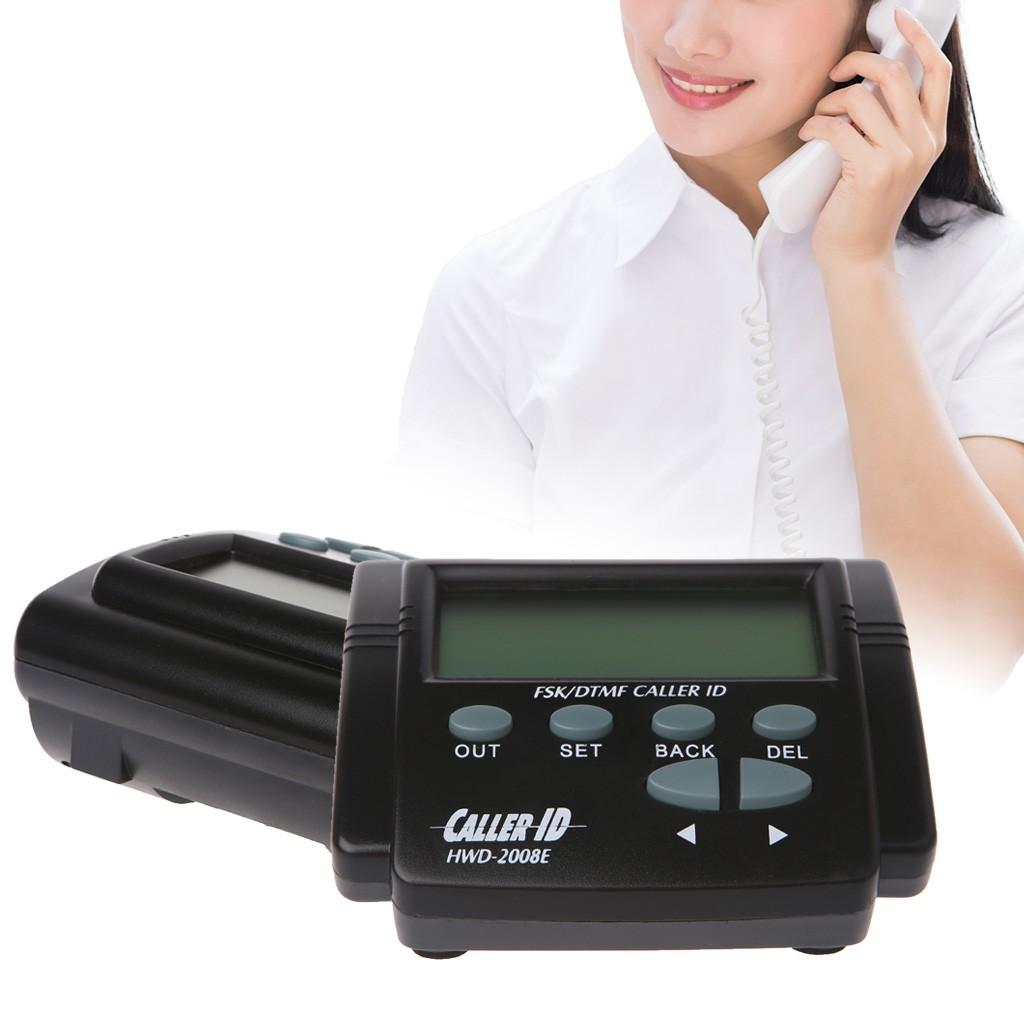 Dual Signal LCD Display FSK//DTMF Telephone Call Box Caller ID Mobile Phone