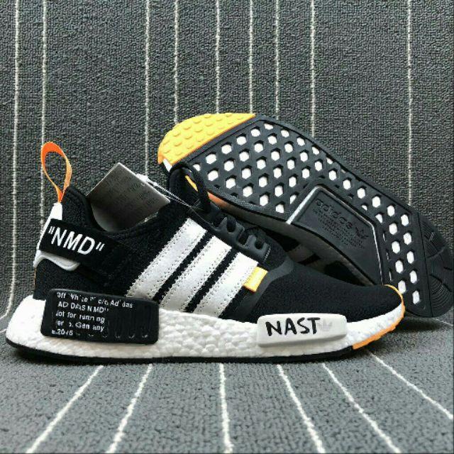 1:1 quality NAST Off White x Adidas Originals NMD Unisex