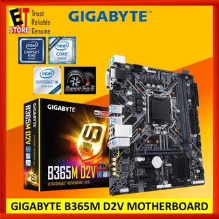GIGABYTE B365M D2V MOTHERBOARD GAMING LAN, PCIE GEN3 X4 M 2