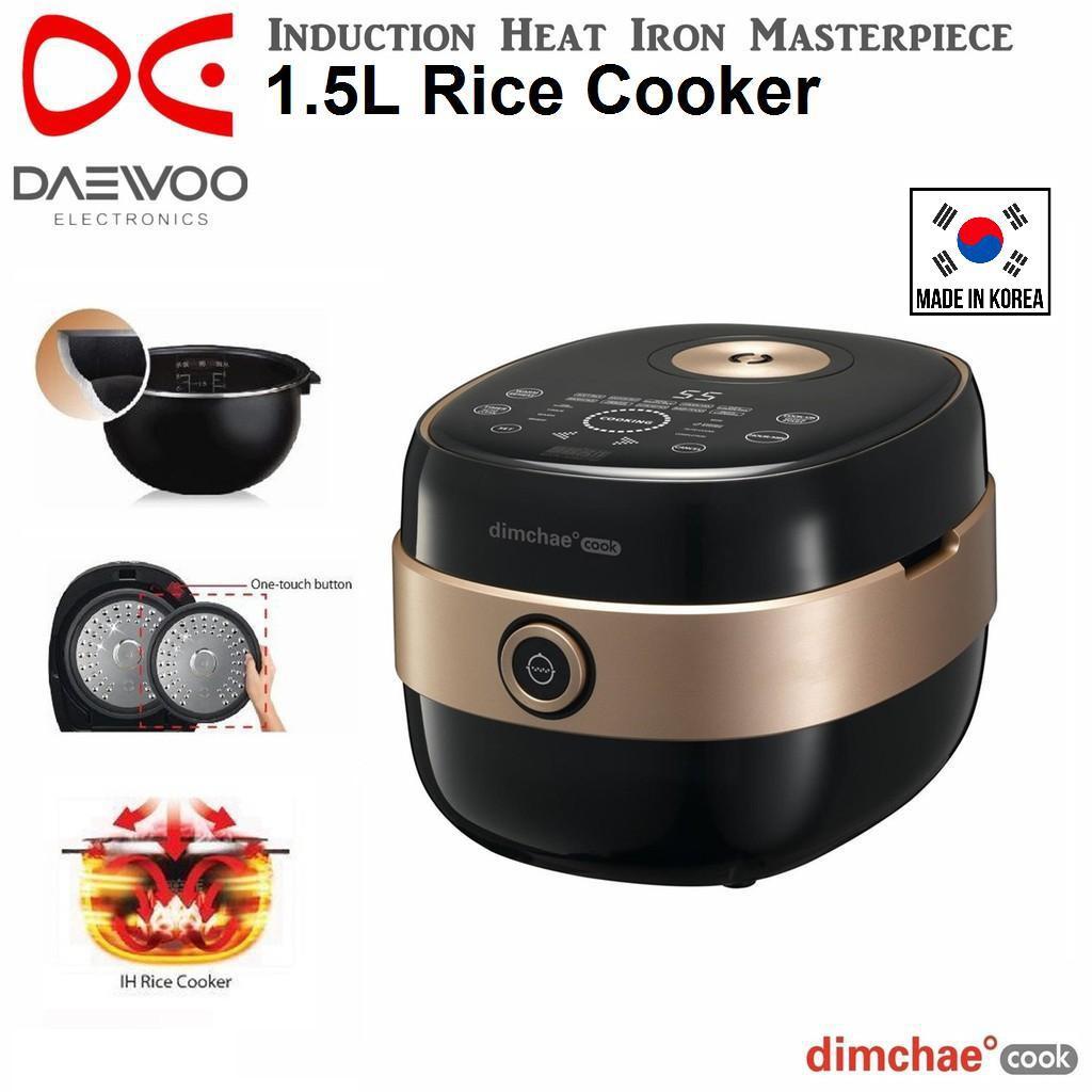Daewoo Ih 1 5l Rice Cooker Rcnp08tg Korea Shopee Malaysia