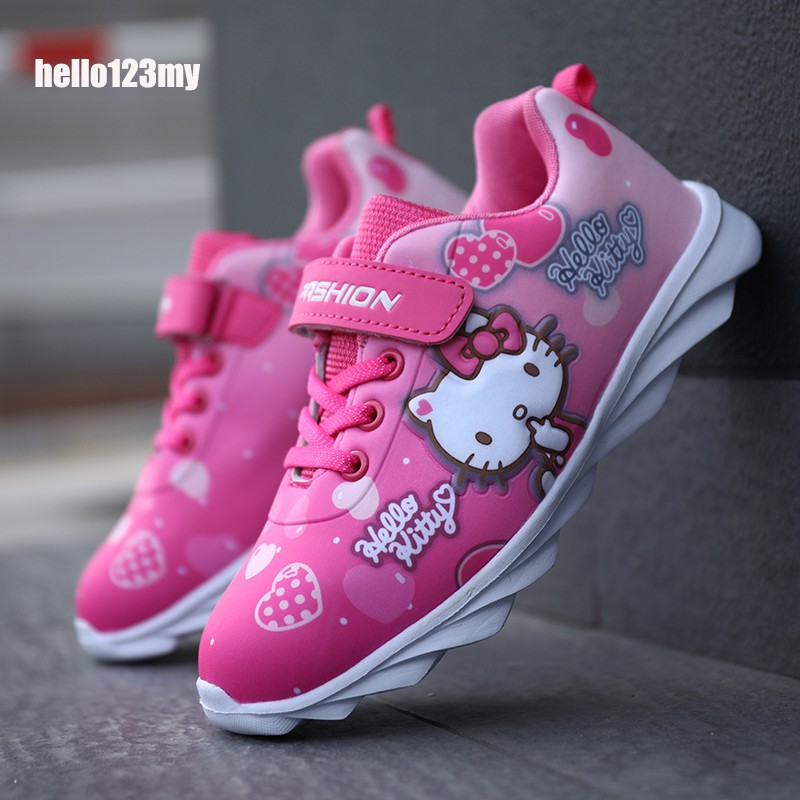 Hello Kitty Shoes Hello Kitty Children Shoes Girls Boys Sneakers Kids Fashion Sport Running  Shoes | Shopee Malaysia