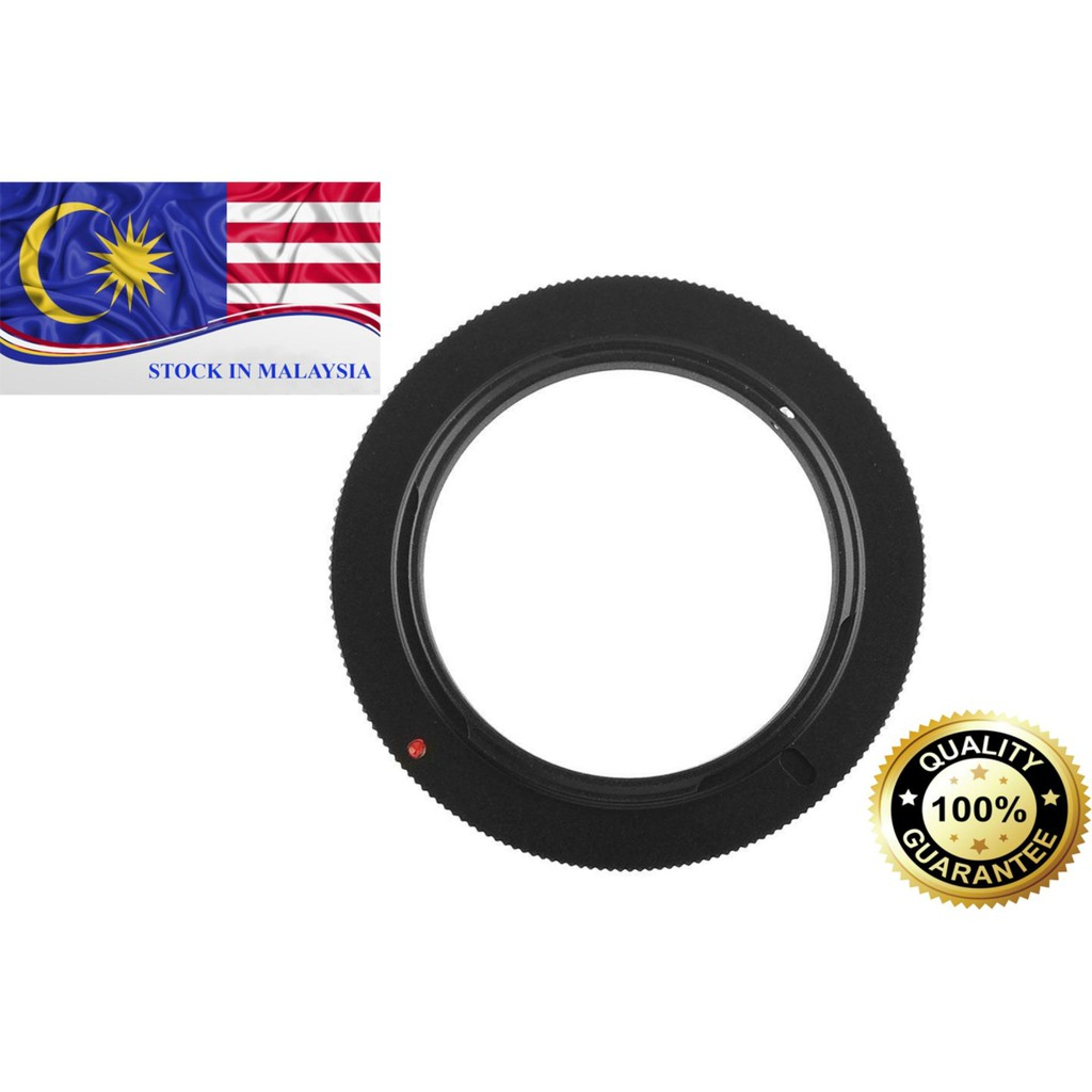52 mm Macro Reverse Adapter Ring for Canon EOS (Ready Stock In Malaysia)