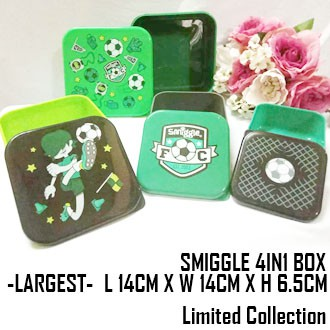 LIMITED COLLECTION SMIGGLE 4 In 1 Squad Container *BPA FREE