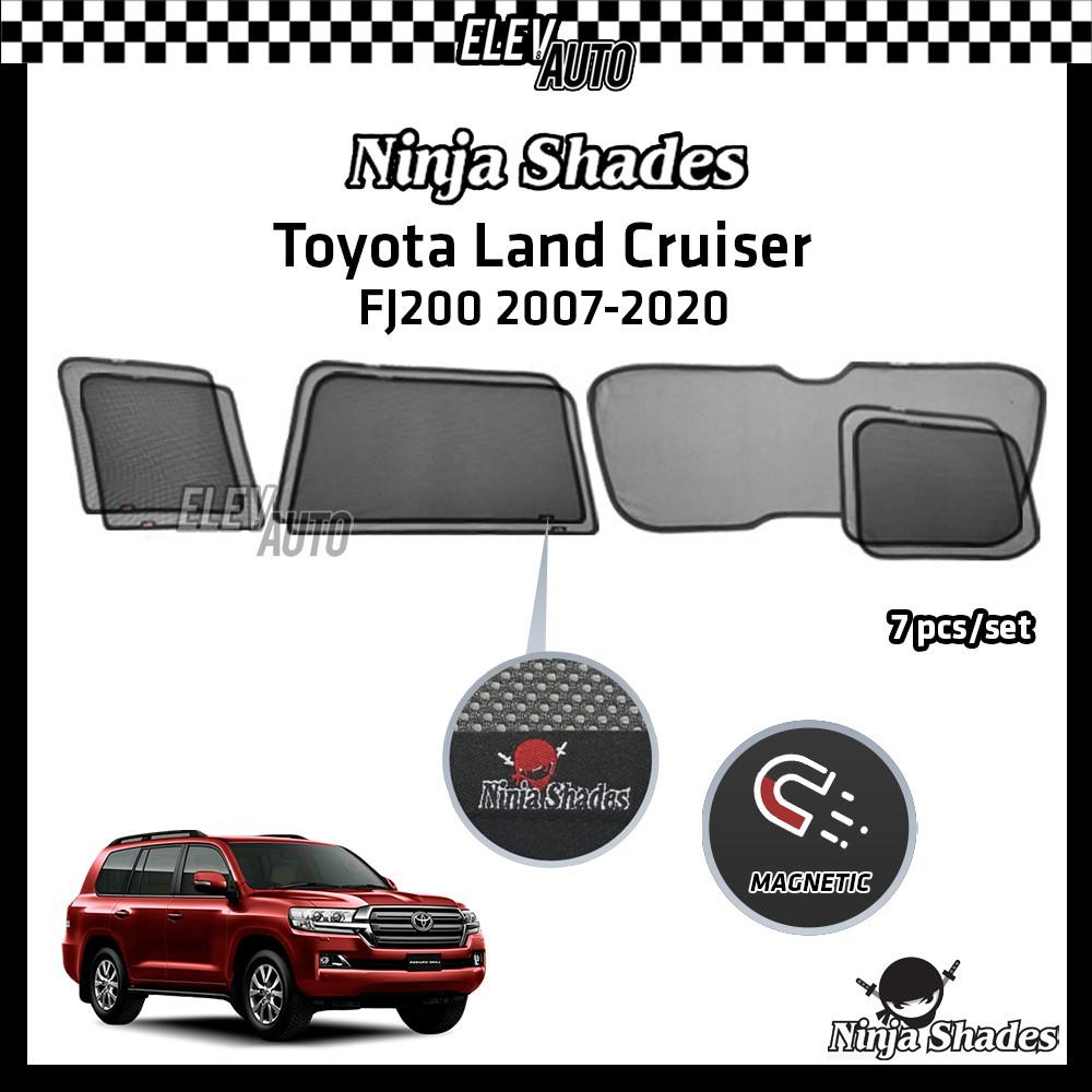Toyota Land Cruiser J200 2007-2020 Ninja Shades OEM Magnetic Sunshade