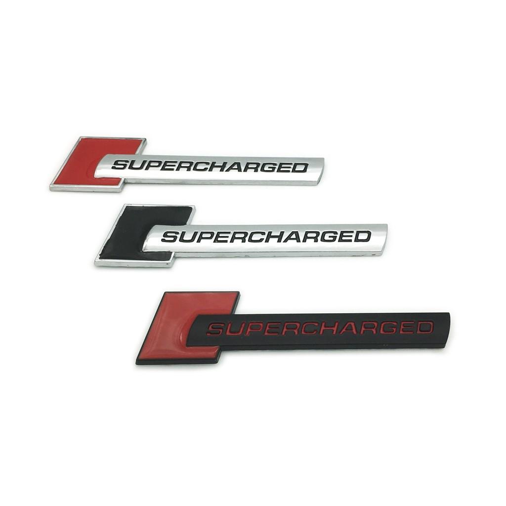1x Metal Chrome Sport Emblem Badge Sticker Hatchback Supercharged Coupe 3D Auto