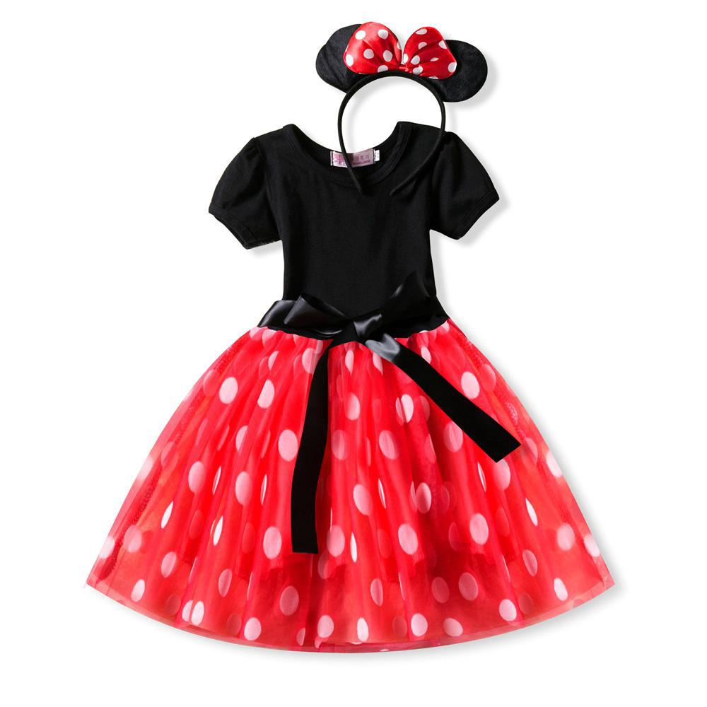 8a47f798a Girls Dress Minnie Mouse Princess Party Costume Infant Baby Clothes Tutu  Dresse | Shopee Malaysia