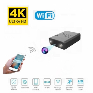 New WiFi 4K Ultra HD 1080P Mini IP Camera Wide Angle Hidden